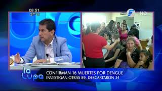 #ENTREVISTA Confirman 16 muertes por dengue