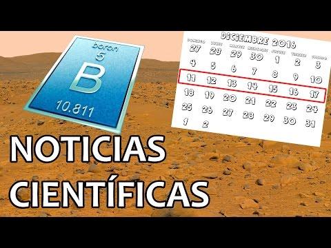 Encontrado Boro en Marte | Noticias 19/12/2016