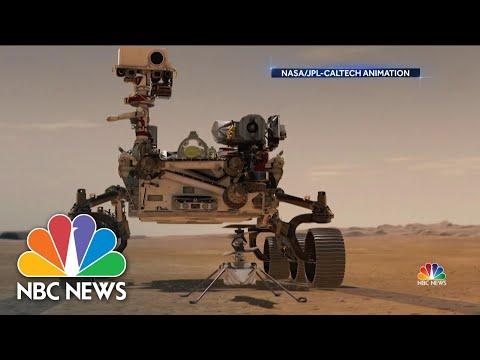NASA Makes History With Flight On Mars | NBC Nightly News