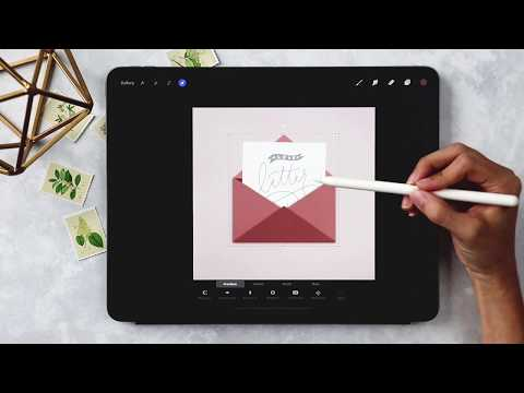 Create a Love Letter in Procreate