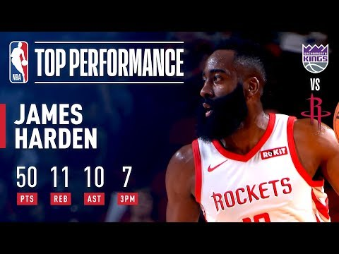 James Harden Records His FIFTH 50-Point TRIPLE-DOUBLE | March 30, 2019