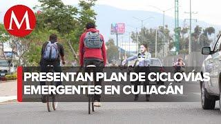 Proponen ciclovías temporales para Culiacán