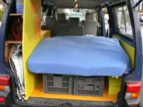 vw t4 multivan ii sitzbank alleine ausbauen youtube. Black Bedroom Furniture Sets. Home Design Ideas