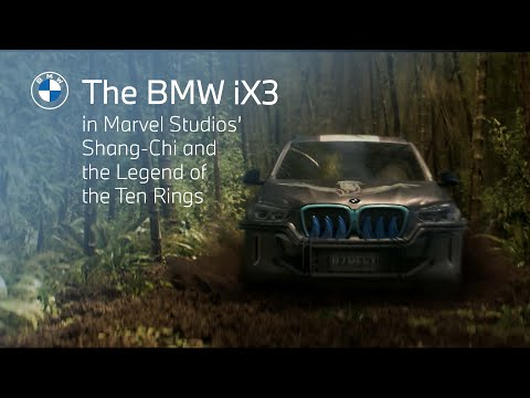 See the BMW iX3 in Marvel Studios' Shang-Chi and the Legend of the Ten Rings