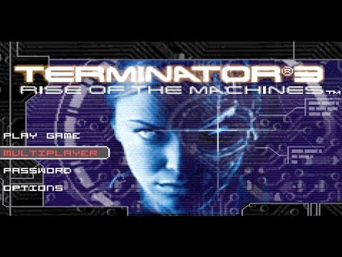 TERMINATOR 3: Rise Of The Machines  Game Boy Advance GBA