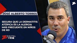 Torres asegura que la dermatitis atópica es la alergia más frecuente en niños de RD