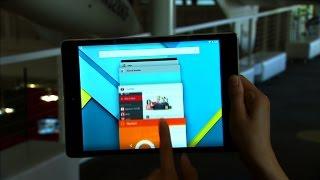 Take a closer look at the sleek Google Nexus 9 tablet