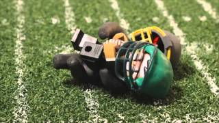 TOUCHDOWN (Stop Motion Animation)