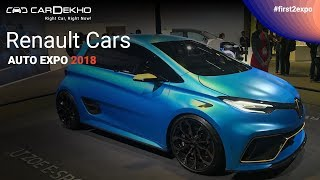 Renault at Auto Expo 2018 | #First2Expo | Trezor, ZOE e-Sport