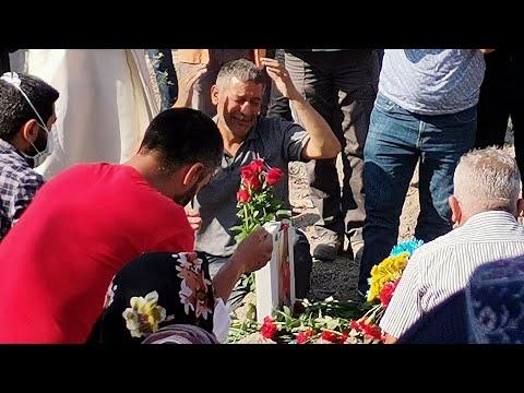 Ümitcan Uygun'un annesi Gülay Uygun toprağa verildi
