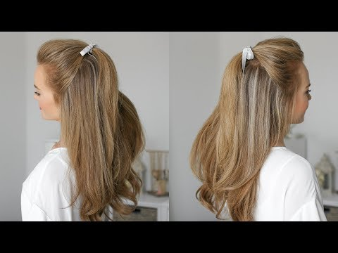 Easy, Everyday Half Updo | Missy Sue