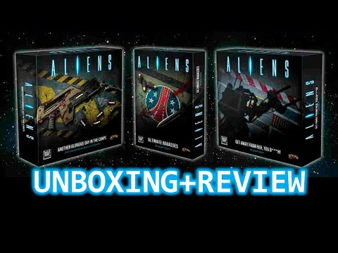 Aliens Board Game: The complete experience