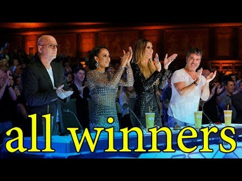 connectYoutube - All Winners America's Got Talent ALL TIME Update