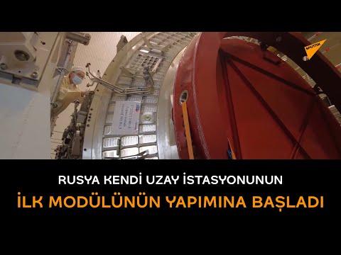 Rusya kendi uzay istasyonunun ilk modülünün yapımına başladı