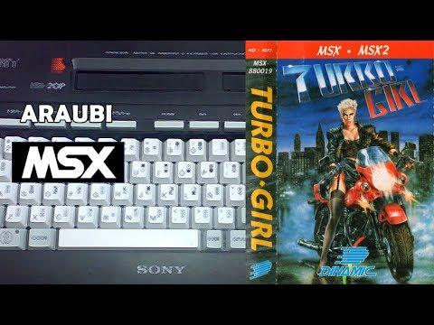 Turbo Girl (Dinamic, 1988) MSX [193] Walkthrough Comentado