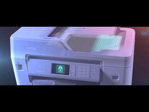 Brother Designed for Business printer range - security