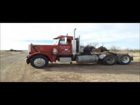 1982 Peterbilt semi truck for sale | no-reserve Internet auction March 8, 2017