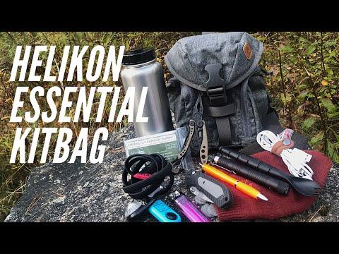 Helikon Essential Kitbag: Bushcraft & EDC Bag - Compact Carrying Option