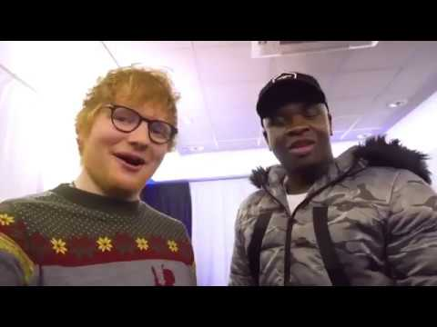 connectYoutube - Big Shaq Beefs Ed Sheeran About The Christmas Number 1 Spot