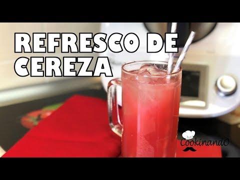 REFRESCO de CEREZAS THERMOMIX