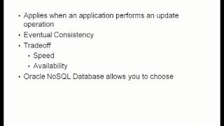 Oracle NoSQL Database - Getting Started - YouTube