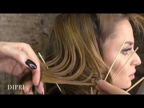 Причеcка на длинные волосы   Ольга Дипри   Обучение прическам