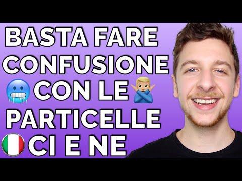 BASTA confonderti con le particelle CI e NE! (Sub ITA)   Imparare l'Italiano