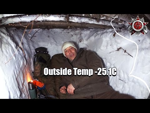 Snow Shelter Survival At -25.1C - How Snow Shelters Really Work