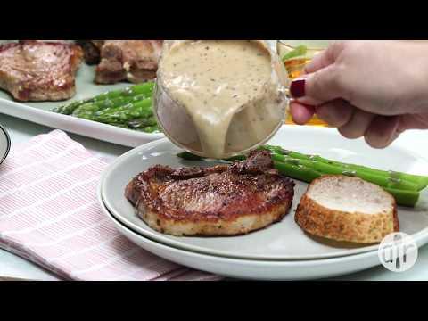 How to Make Creamy Herbed Pork Chops | Dinner Recipes | Allrecipes.com