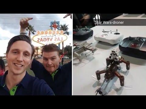 CES 2017 i Las Vegas: Snapstory Dag 1
