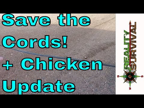 Simple Life Hack Plus Chicken Update - Reality Survival Ranch Ep#?