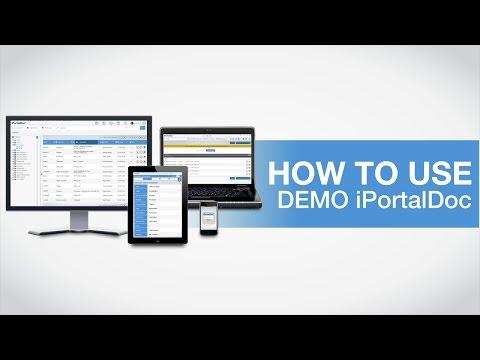 Demo iPortalDoc - How to use