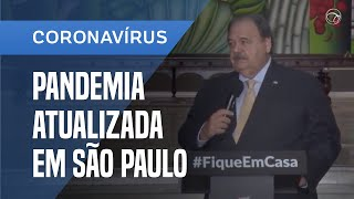 CORONAVÍRUS: COLETIVA DO GOVERNO DE SP MOSTRA NOVIDADES NO COMBATE À PANDEMIA