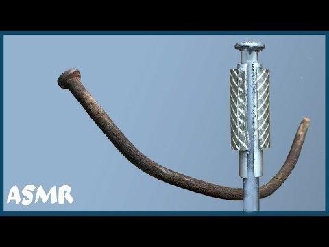 Не вздумайте выкидывать ржавые гвозди. Что можно сделать из старого гвоздя.   ASRM видео. photo