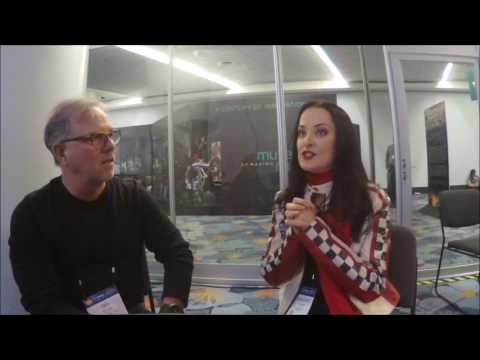 Diana Rein Interview at Winter NAMM 2017