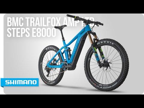 Check out the BMC Trailfox AMP ltd. powered by STEPS E8000   SHIMANO