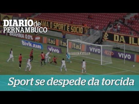 Sport joga bem, bate Corinthians e se despede da torcida em 2015