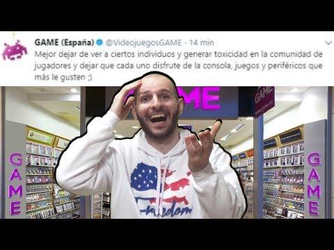 connectYoutube - ¡¡¡TIENDA GAME RECOMIENDA QUE LA GENTE NO ME VEA!!! - Sasel - Tiendas - Español - Consolas
