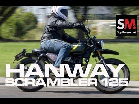 HANWAY SCRAMBLER 125 2017 [FULLHD]