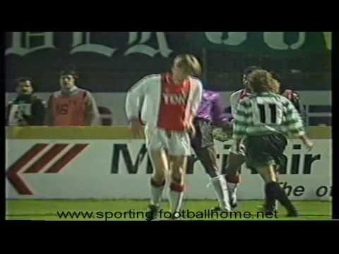 Sporting - 2 x Ajax - 0 de 1989/1990 Final do Torneio Philips (10-01-1990)