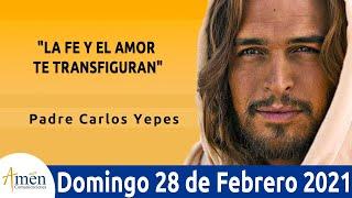 Evangelio De Hoy Domingo 28 Febrero . Marcos 9,2-10 l Padre Carlos Yepes