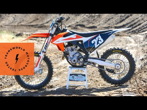 Technical Briefing Of The 2019 KTM 250 SX-F | TransWorld Motocross