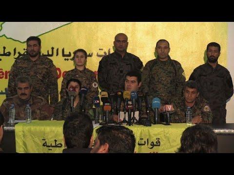 """قوات سوريا الديموقراطية تدعو واشنطن """"للاضطلاع بمسؤولياتها"""" ازاء عفرين"""