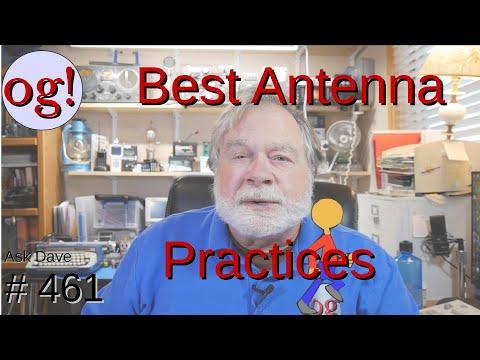 Best Antenna Practices (#461)