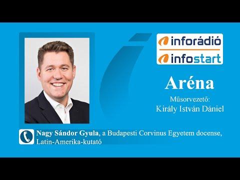 InfoRádió - Aréna - Nagy Sándor Gyula - 2021.08.16.