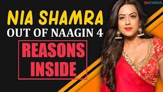 Nia Sharma out of Naagin 4 | Checkout the complete reason inside | TellyChakkar | - TELLYCHAKKAR
