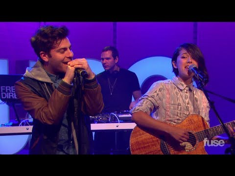 Make It Home - Hoodie Allen & Kina Grannis (LIVE PERFORMANCE)