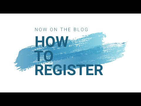 How to register to the blog for free and without problems