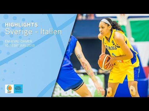 Highlights: Sverige vs. Italien (EM-kval)