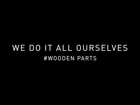 We do it all ourselves #wooden parts